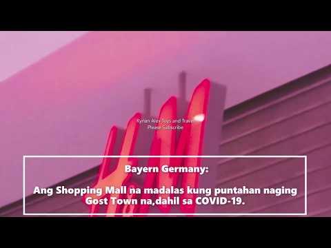 Bayern Germany...dahil sa COVID-19 Shopping Mall Ghost Town na.