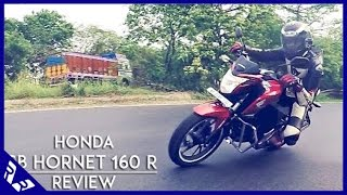 Honda CB Hornet 160R Review | Road Test | Detailed video | RWR
