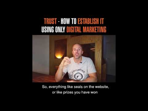 Trust - How to establish it, using only digital marketing? | Felix Beilharz in Belgrade