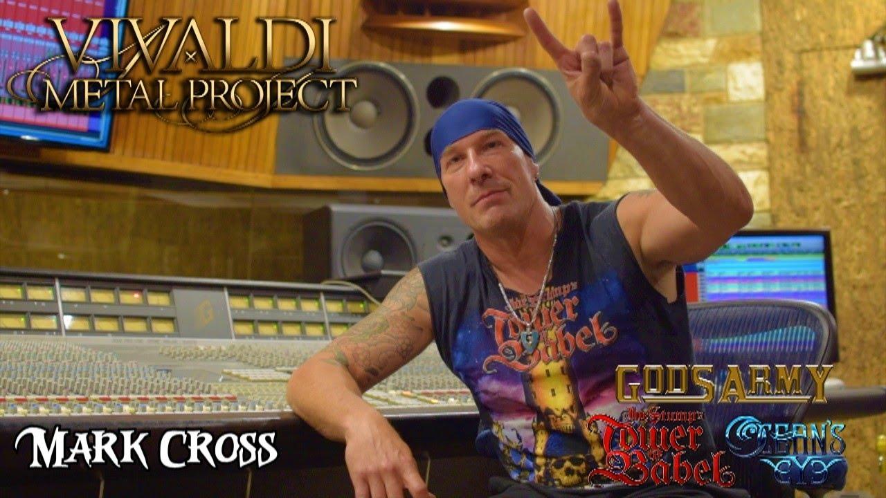 Mark Cross - Drum recording trailer Vivaldi Metal Project new album 2020