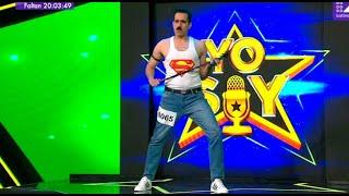 Imitador de Freddie Mercury se mandó con dos grandes temas en Yo Soy