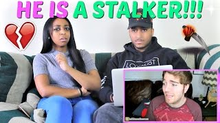 "Shane Dawson ""STALKERS CAUGHT ON TAPE"" REACTION!!!"