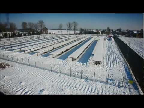 WINAICO - 653KW Ground mounted Solar Farm - PV System completed in 6 days
