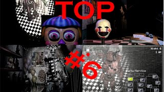TOP 6 Ilusiones y Secretos Five Nights At Freddy s 2
