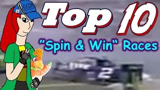 """Top 10 Countdown - """"Spin & Win"""" races"""