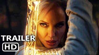 ETERNALS Teaser ufficiale (2021) Angelina Jolie, Marvel Movie HD