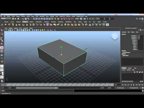 Autodesk Maya #1: Введение в...