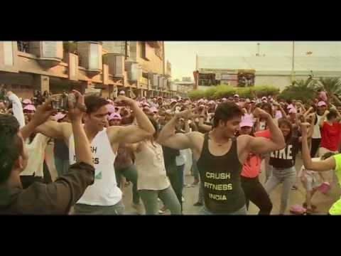Crush Fitness India Flashmob @ Saket Select City Walk, New Delhi