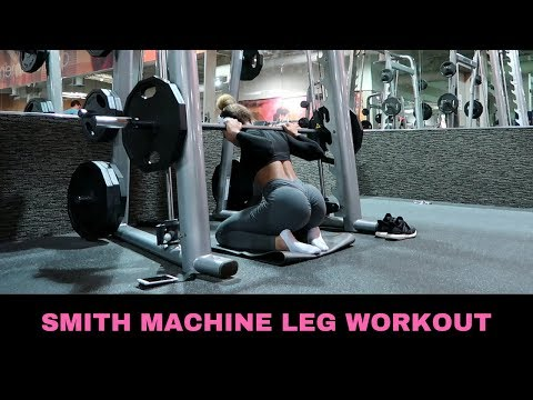 SMITH MACHINE ONLY LEG WORKOUT