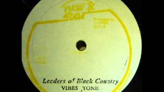 ReGGae Music 591 - Vibes Tone - Leaders Of Black Country [New Star]