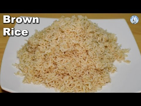 How to Cook Brown Rice | Perfect Brown Rice Recipe | Diet With Amna