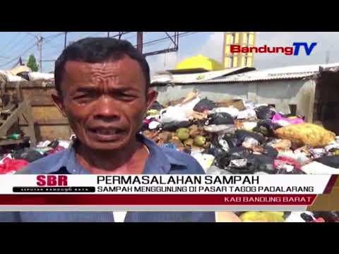 Sampah Menggunung Di Pasar Tagog Padalarang | SBR | BANDUNG TV
