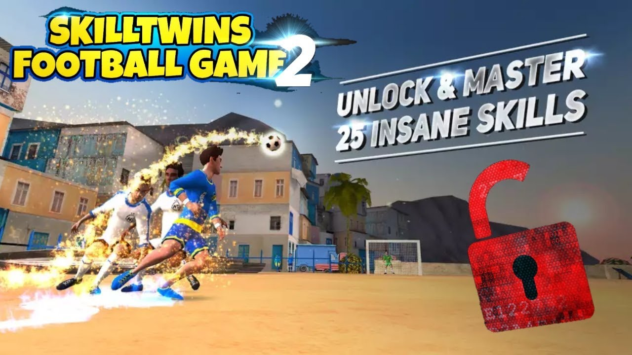 skilltwins football game 2 mod apk