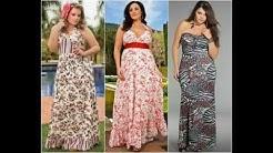Modelos de Vestidos Longos de Malha Plus Size
