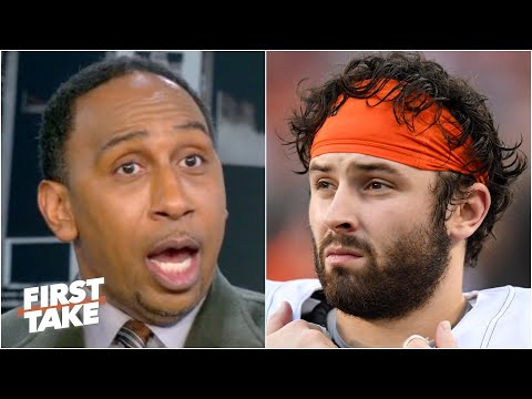 Stephen A. responds to Baker Mayfield | First Take