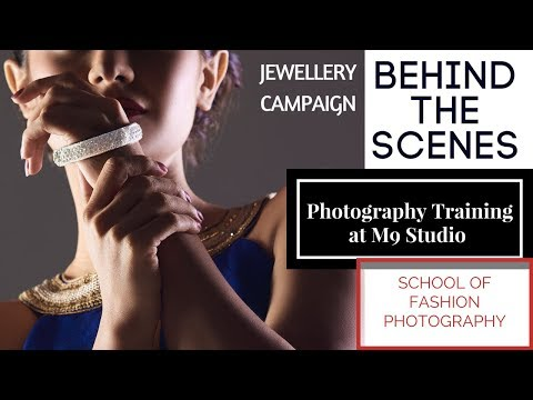 Learn Fashion Photography   Behind the scenes   jewellery photography setup ( Hindi )