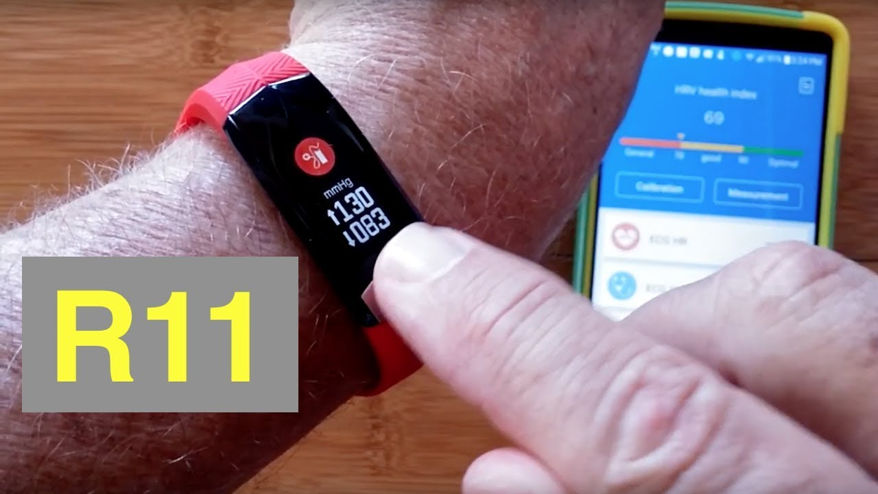 L8STAR R11 (CD01) ECG+PPG Heart Wave Charting Blood Pressure Health/Fitness Band: Unboxing & Review