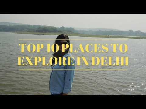 Top 10 places to hangout in Delhi