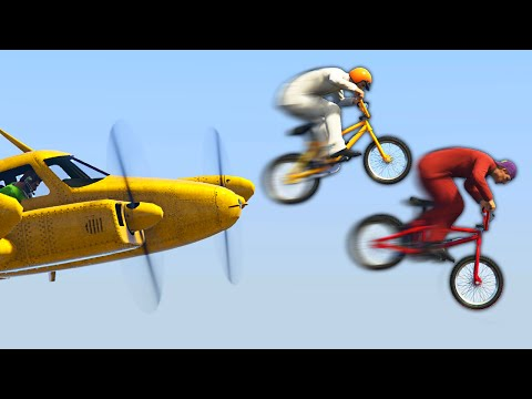 DON'T GET CAUGHT IN THE PROPELLERS! (GTA 5 Funny Moments)