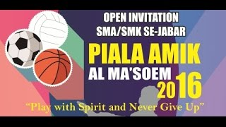 Momen SMAN 1 Cimanggung Juara - Final Mini Soccer Piala AMIK 2016