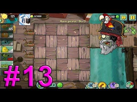 Plants Vs Zombies 2, Mares Piratas Día 13