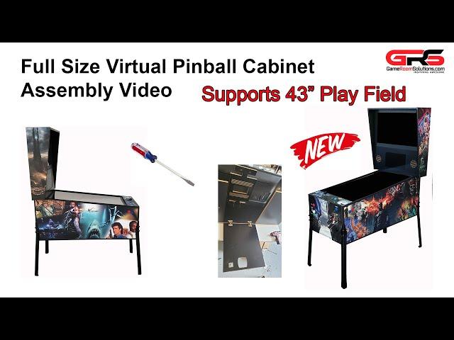 Full Size Virtual Pinball Assembly Video - 43