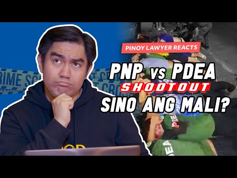 SHOOTOUT NG PNP AT PDEA, SINO MALI? | PINOY LAWYER REACTS TO 'MISENCOUNTER' DURING BUYBUST