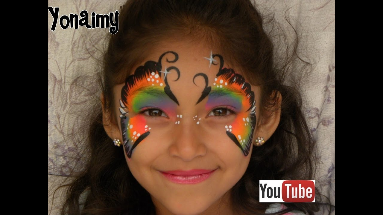 Face Painting Youtube Butterfly