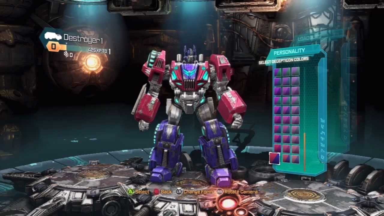 transformers fall of cybertron demo multiplayer gameplay part 1