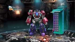 transformers fall of cybertron demo multiplayer gameplay part 1 rocking the titan class