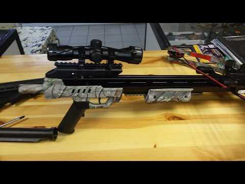 Видеозапись Блочный арбалет MK XB52R