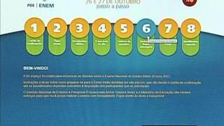 MEC disponibiliza locais de provas do Enem 2013 pela internet