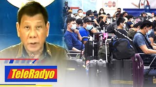 Duterte urges lawmakers to fast-track creation of agency for OFWs | TeleRadyo