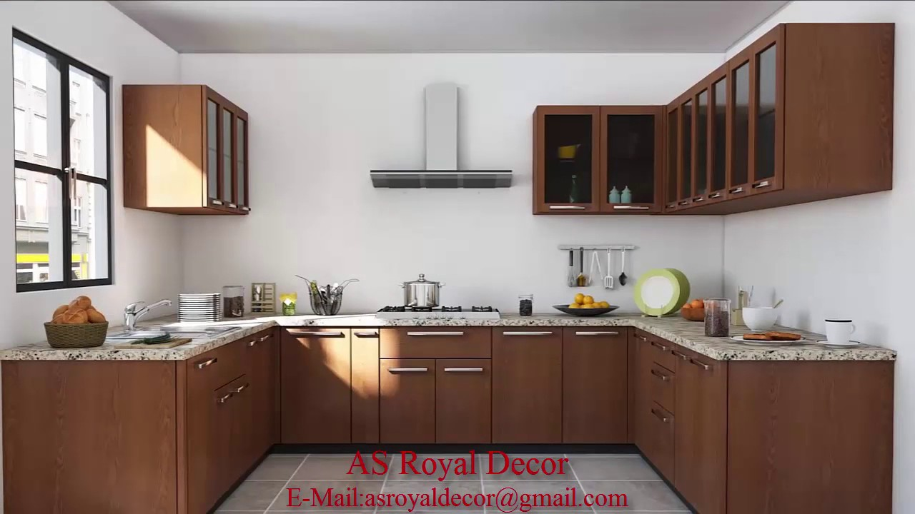 Latest Modular kitchen designs 2017(AS Royal Decor) - YouTube on Model Kitchen Ideas  id=13487