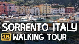 Sorrento, Italy Walking Tour in 4K