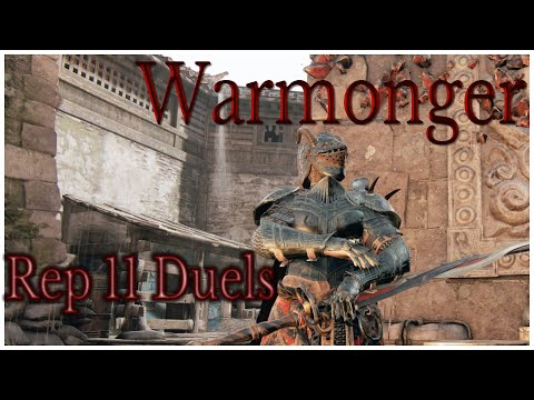 CALM DOWN WIFI WARRIOR || For Honor || Rep 11 Warmonger Duels |