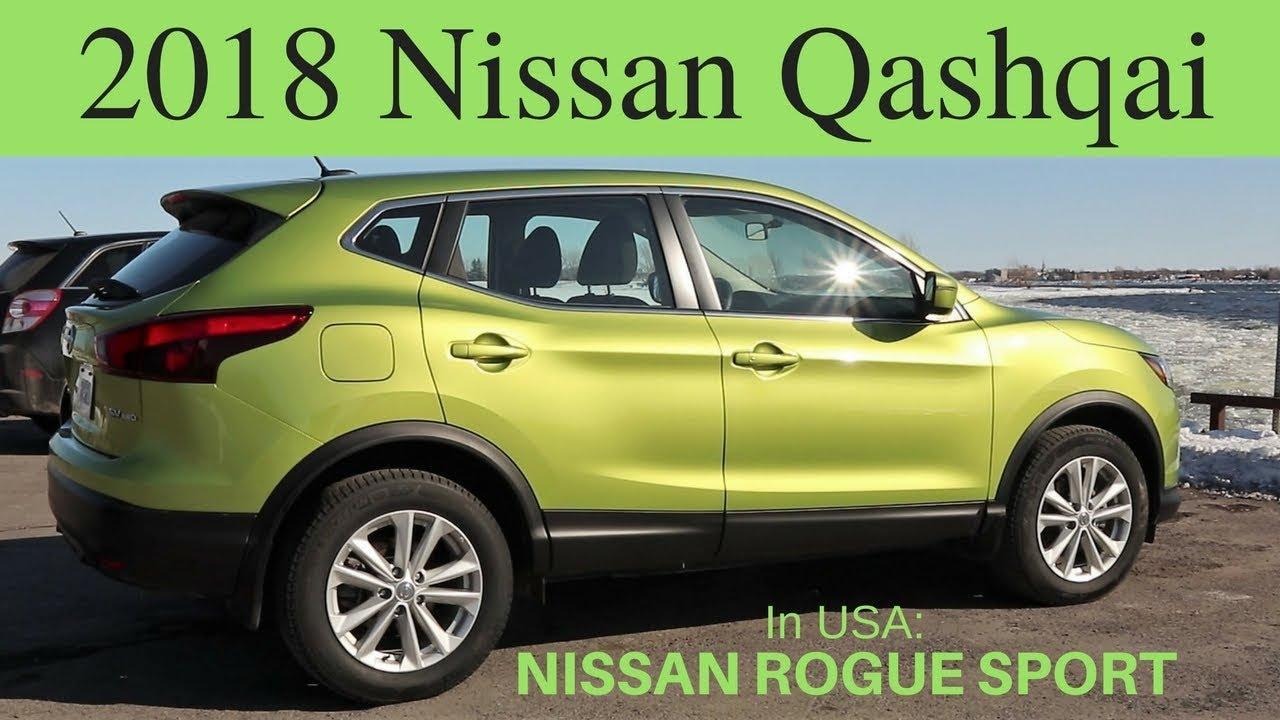 Nissan Qashqai Usa >> 2018 Nissan Quasqai Review Rogue Sport