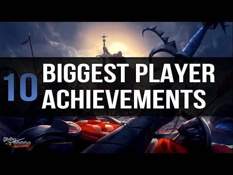 10 of the Biggest Player Achievements in OSRS History
