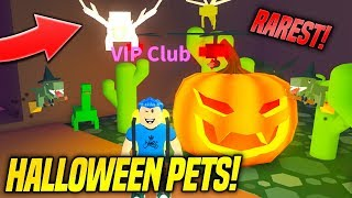 *RARE* NEW LIMITED HALLOWEEN PETS IN DINO PET SIMULATOR!! (Roblox)