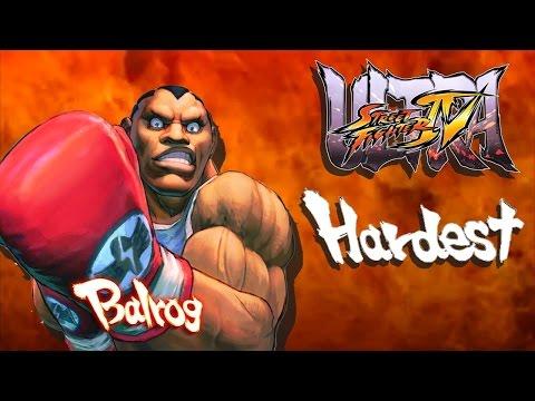 Ultra Street Fighter IV - Balrog Arcade Mode (HARDEST)