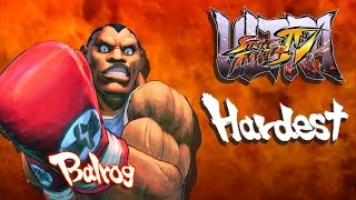 Ultra Street Fighter IV - Balrog Arcade Mode (HARDEST)