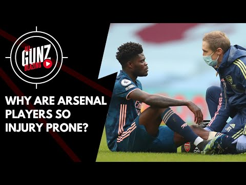 Why Are Arsenal Players So InjuryProne? | All Gunz Blazing Feat DT