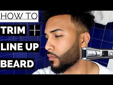 HOW TO TRIM & SHAPE UP YOUR OWN BEARD FRESH - Self Cut Tutorial