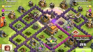 #007 Clash of Clans angriff mit schweinereiter