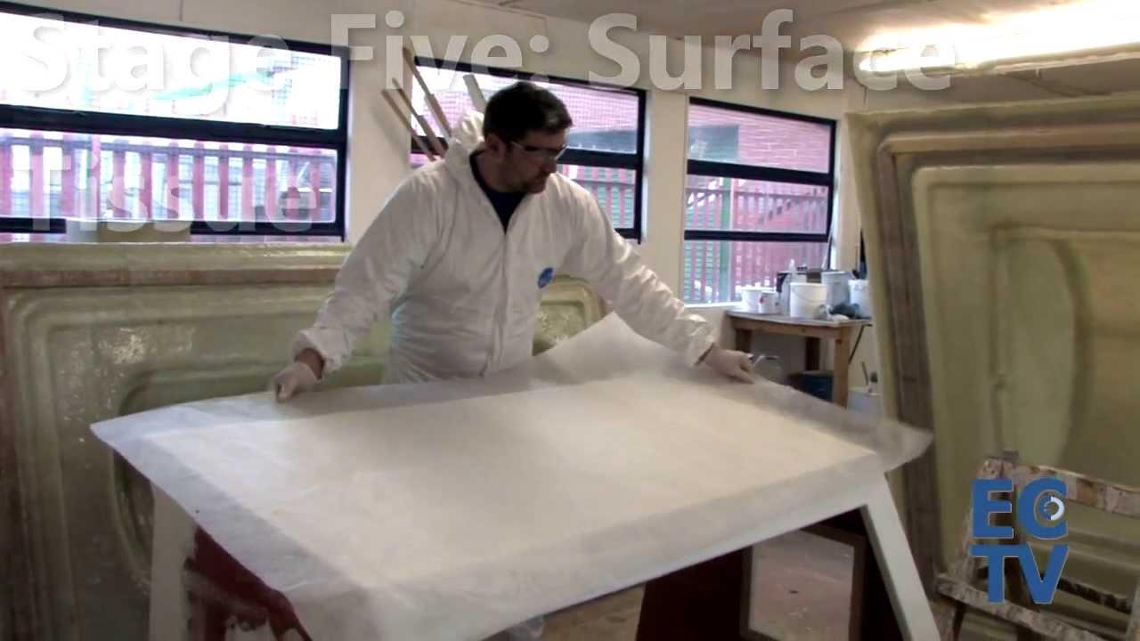 Fibreglassing onto Plywood - Sheathing a boat's wheelhouse