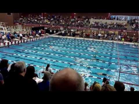Jack Barrett 200IM 2012 district meet