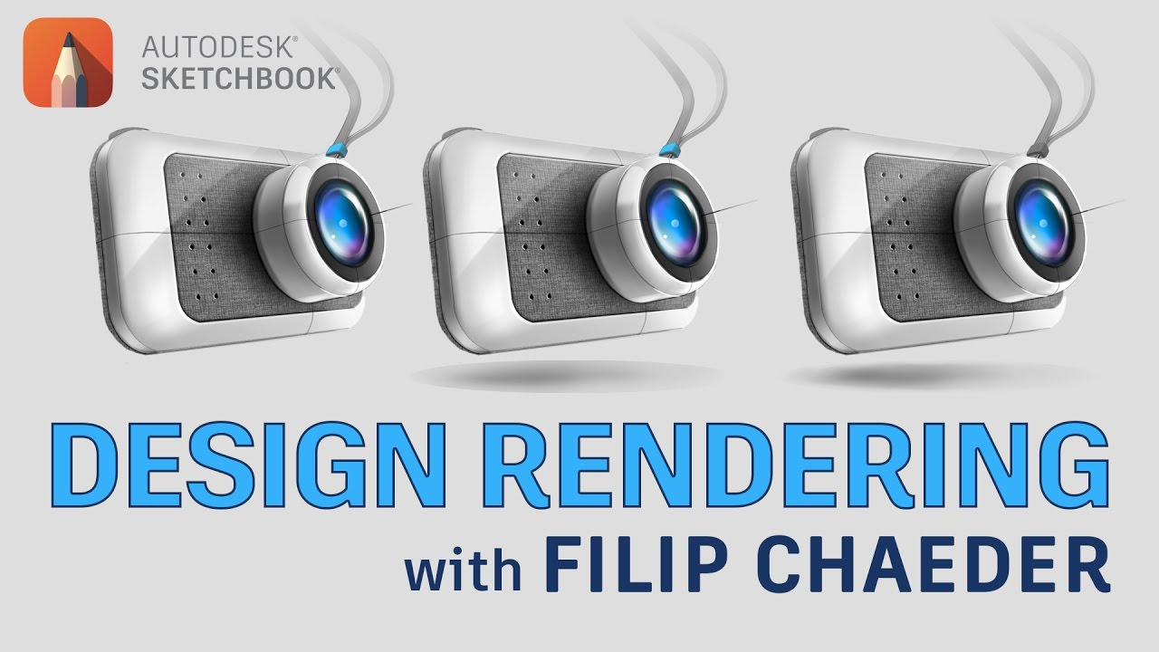 Product design rendering with filip chaeder youtube for Rendering gratis
