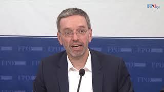 Herbert Kickl: Die Sicherheit unserer Polizei muss gewährleistet sein!