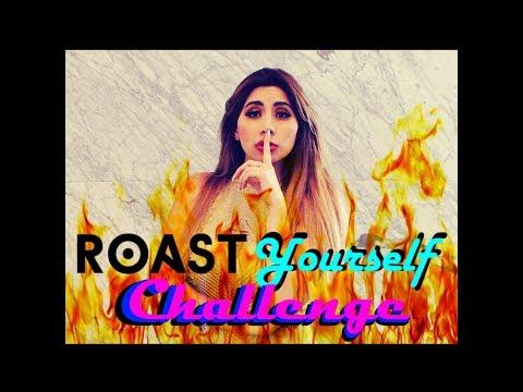 Roast Yourself Challenge Soy la Bebeshita  Daniela Alexis ft Alan JB