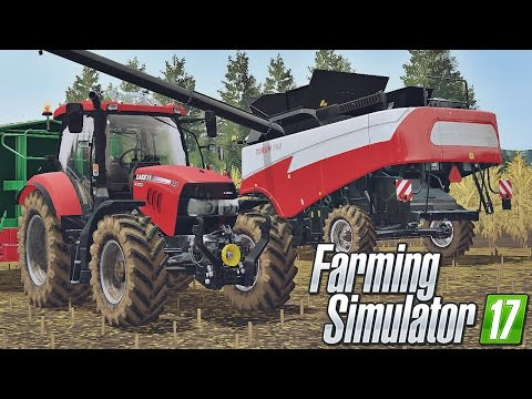 Kukurydza na ziarno w Farming Simulator 17 - Slovakia Map | Arikson